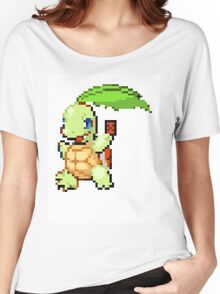Pokemon and YuGiOh combined into a sprite Women's Relaxed Fit T-Shirt