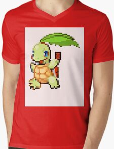 Pokemon and YuGiOh combined into a sprite Mens V-Neck T-Shirt