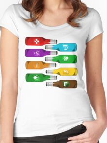 All the perks Women's Fitted Scoop T-Shirt