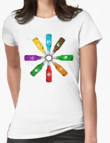 circle of perks Womens Fitted T-Shirt