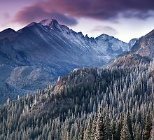 Longs Peak Sunrise by Ryan Wright