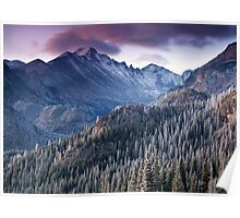 Longs Peak Sunrise Poster