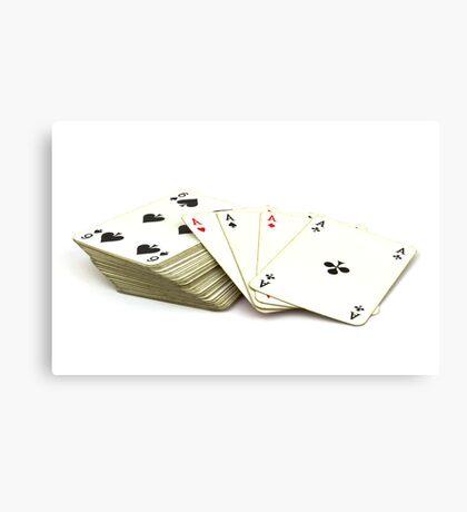 Ace Card Canvas Print