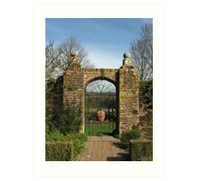 Arched Gate Art Print