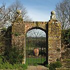 Arched Gate by Sue Robinson