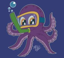 The Snorkeling Octopus  by DrewBird