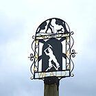 English Village Sign by Sue Robinson