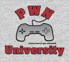 PWN University Gamer gear by jenwhite2012