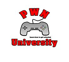 PWN University Gamer gear Photographic Print