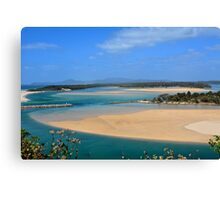 Nambucca by the sea. Canvas Print