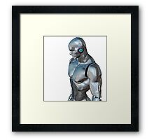 Robotic Man Oblique Framed Print