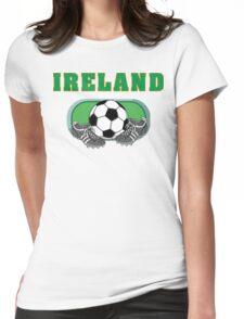 Irish Soccer Womens Fitted T-Shirt