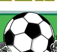 Irish Soccer Sticker