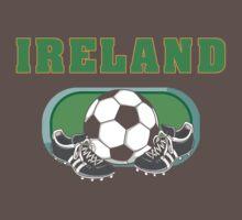 Ireland Soccer Baby Tee