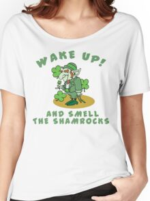 Funny Shamrocks Women's Relaxed Fit T-Shirt