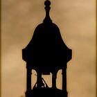 Burlington Courthouse Tower at Sunset by phrozenfotos