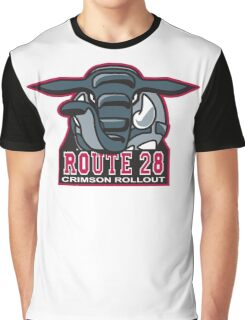 Route 28 Crimson Rollout Graphic T-Shirt