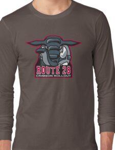Route 28 Crimson Rollout Long Sleeve T-Shirt