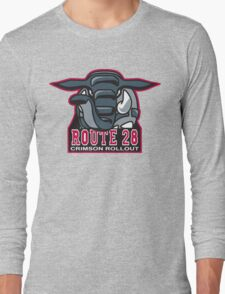Route 28 Crimson Rollout Long Sleeve T-Shirt