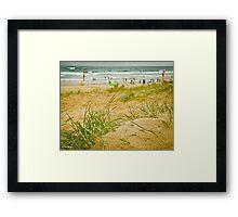 Peregian Beach Sunshine Coast Framed Print