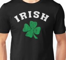 Vintage Irish Shamrock Unisex T-Shirt