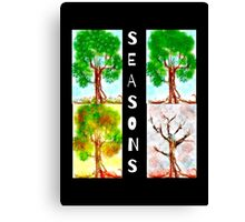 A Tree For All Seasons Canvas Print
