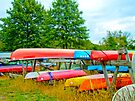 Rainbow Boats by MotherNature