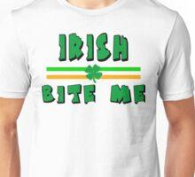 """Irish """"Bite Me"""" Unisex T-Shirt"""