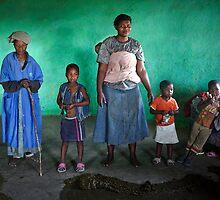Zulu Family by Barry Feldman