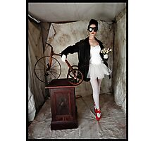 tricycle tales Photographic Print