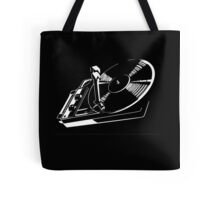 record player Tote Bag