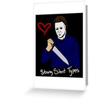 Horror Boyfriends- Michael Myers Greeting Card