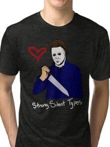 Horror Boyfriends- Michael Myers Tri-blend T-Shirt