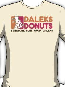 Daleks Donuts T-Shirt