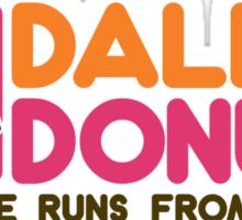 Daleks Donuts Sticker