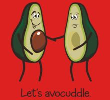Let's Avocuddle One Piece - Long Sleeve