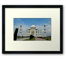 Taj Mahal, Agra, India Framed Print