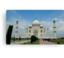Taj Mahal, Agra, India Canvas Print