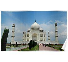 Taj Mahal, Agra, India Poster