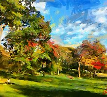 High Park in Fall  by DiNovici