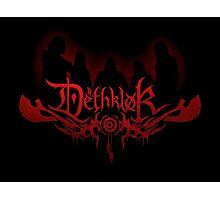 Heavy metal band shadow Photographic Print
