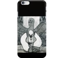 Swan Family iPhone Case/Skin