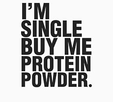 Buy me protein powder Womens Fitted T-Shirt