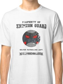 Property of Krimzon Guard (Black Text) Classic T-Shirt
