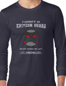 Property of Krimzon Guard (White Text) Long Sleeve T-Shirt