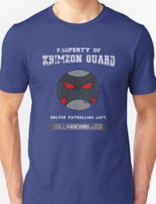 Property of Krimzon Guard (White Text) Unisex T-Shirt