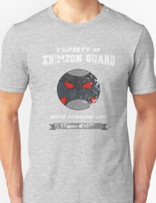 Property of Krimzon Guard (White Text) Unisex T-Shirt
