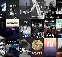 One Direction Made in the Am Song Titles Design by ashy1318