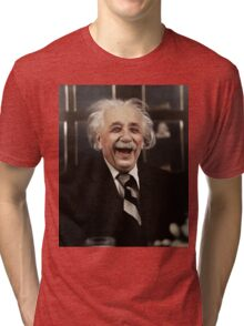 Albert Einstein  Tri-blend T-Shirt