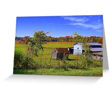 Autumn on the Farm Greeting Card